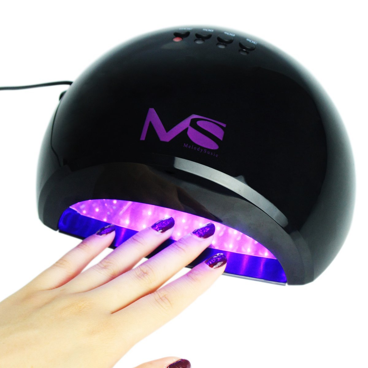 Melodysusie 48w Violetili Led Light Lamp Gel Nail Dryer